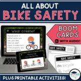 Bicycle Safety BOOM CARDS - Digital Interactive Task Cards