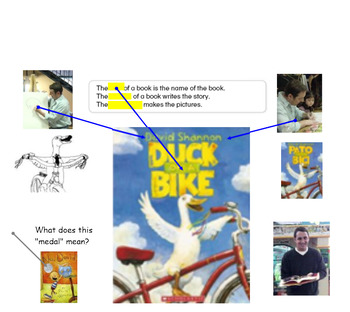 Bike Safety David Shannon Author Study