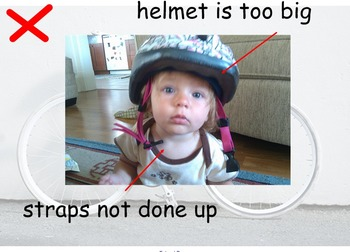 Bike/Bicycle Safety and Wearing a Helmet