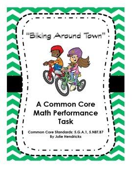 """Biking Around Town"" A Common Core Math Performance Task"