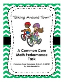 """Biking Around Town"" A Common Core Math Performance Task"