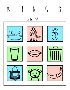 Bilabial BINGO in Spanish: Initial, Medial m, b, p, articulation