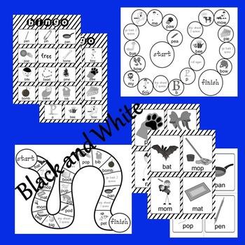 BILABIAL CV & CVC GAME SET