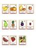 Bildkarten Obst Schülerversion - Flash cards fruit in german