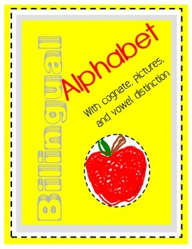 Bilingual Alphabet with Cognates and Word Wall