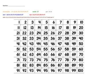 Bilingual 100 mystery grid Turkey