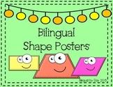 Bilingual 2-D Shape Posters