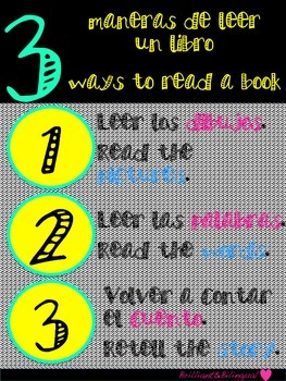 Bilingual 3 Ways to Read a Book