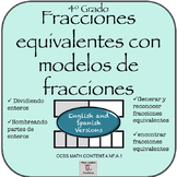 Bilingual: MInilessons (4th) Equivalent Fractions with Fra