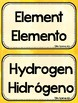 Bilingual 6th Grade Science Word Wall - TEKs Aligned - Watercolor Background