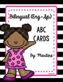 Bilingual ABC Cards!