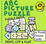 Bilingual ABC Sound-Spelling-Picture Puzzle