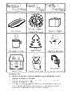 Bilingual Activity Measuring Christmas:: Práctica TEMA NAVIDAD/INVIERNO