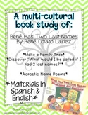 Bilingual Activity Pack - Study of Rene Has Two Last Names