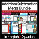Bilingual Addition & Subtraction Bundle in English & Spanish