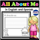 Bilingual All About Me Book