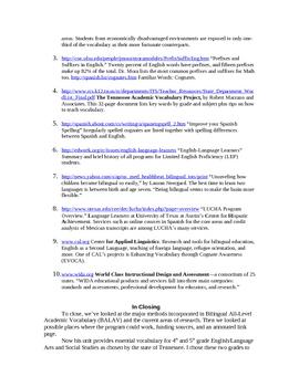 Bilingual All-Level Vocabulary Unit/4-5 English, Social Studies