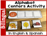 Bilingual Alphabet Centers Activity in English & Spanish