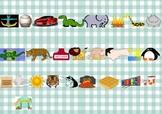Portable Bilingual Alphabet Chart