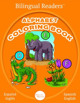 Bilingual Alphabet Coloring Book : Español Inglés : Spanish English