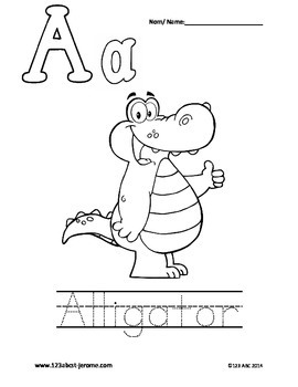 Bilingual Alphabet (English/French)