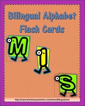 Bilingual Alphabet Flash Cards/Tarjetas bilingúes del alfabeto