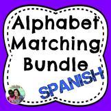 Spanish Bilingual Alphabet Matching Bundle