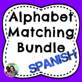 Spanish Bilingual Alphabet Matching Bundle