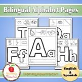 Bilingual Alphabet Pages - Spanish & English