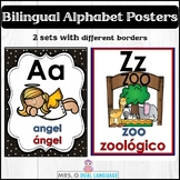 Bilingual Alphabet Posters Set 2