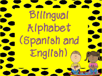 Bilingual Alphabet Specifically for Promoting Biliteracy