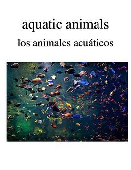 Bilingual Animals (Aquatic Animals) English and Spanish PDF