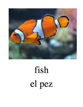 Bilingual Animals (Pets) English and Spanish PDF