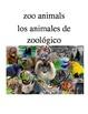 Bilingual Animals (Zoo Animals) English and Spanish PDF