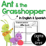 Bilingual Ant and the Grasshopper Fable Unit in English & Spanish