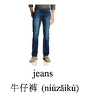 Bilingual Articles of Clothing English and Simplified Chinese PDF