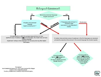 Bilingual Assessment Flowchart