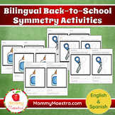 Bilingual Back-to-School Symmetry Activities