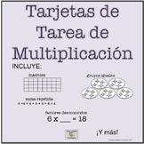 Bilingual: Basic Multiplication Concepts Task Cards 3rd gr