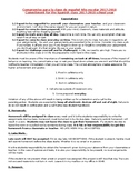 Bilingual Behavior Contract / Compromise for Spanish class or any class.