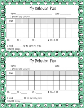 Bilingual Behavior Plan