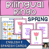 Bilingual Bingo: Spring Vocabulary in Spanish and English