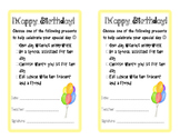 Bilingual Birthday Certificate