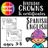 Bilingual Birthday Crowns!