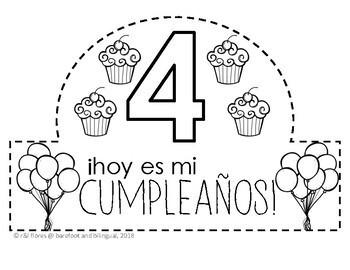 Bilingual Birthday Crowns!