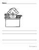 Bilingual Blank Writing Templates (Back to School) (Spanish/ English)