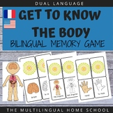 Bilingual All About the Body Memory Game #covid19wl