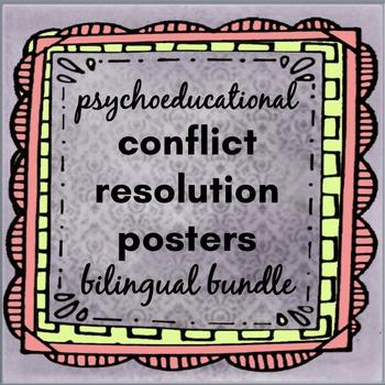 Bilingual Bundle: Psychoeducational Conflict Resolution Po