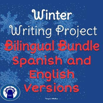 Winter Writing Project Bilingual Bundle