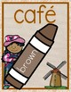 Bilingual Burlap Color Posters